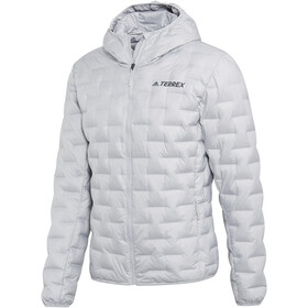 adidas TERREX Light Veste à capuche en duvet Homme, grey two